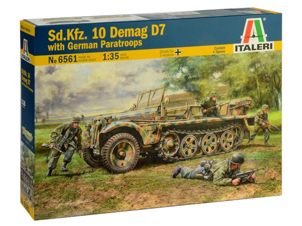 Sd.Kfz. 10 Demag D7  (Vista 1)
