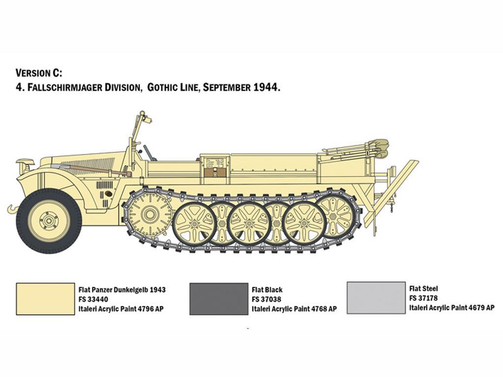 Sd.Kfz. 10 Demag D7  (Vista 2)