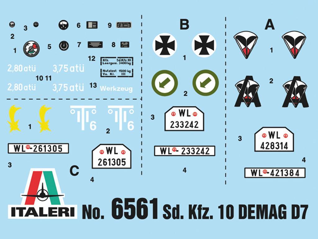 Sd.Kfz. 10 Demag D7  (Vista 3)