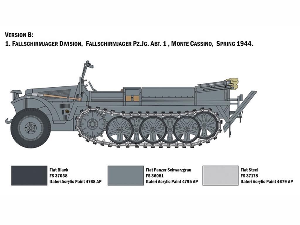 Sd.Kfz. 10 Demag D7  (Vista 5)