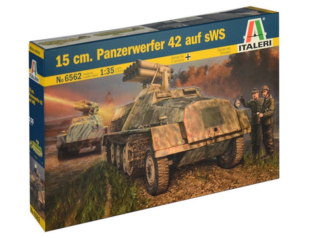 15 cm. Panzerwerfer 42 auf sWS (Vista 1)