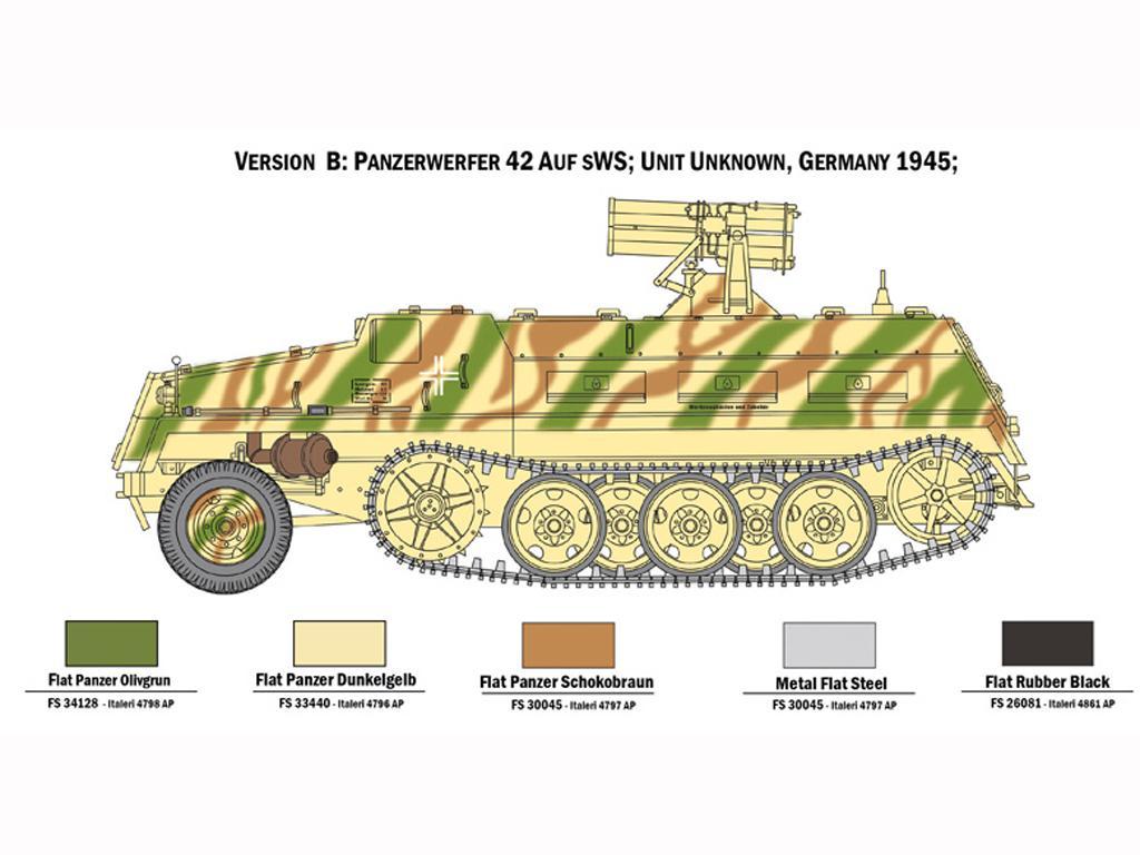 15 cm. Panzerwerfer 42 auf sWS (Vista 2)