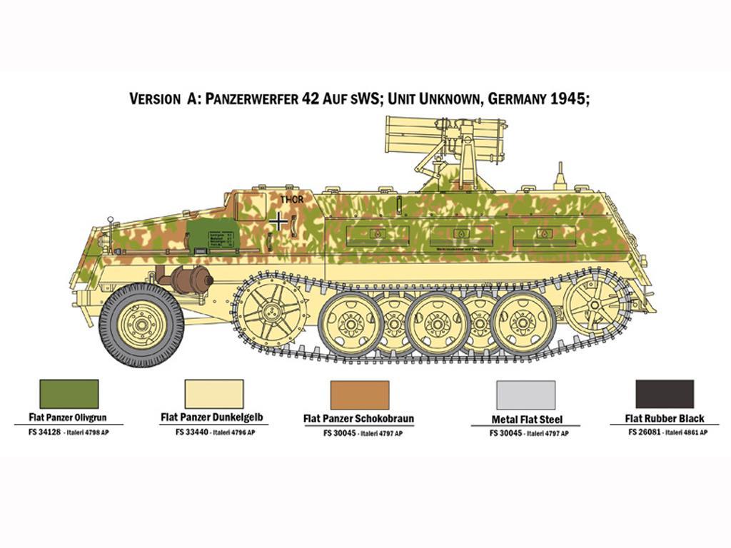 15 cm. Panzerwerfer 42 auf sWS (Vista 4)