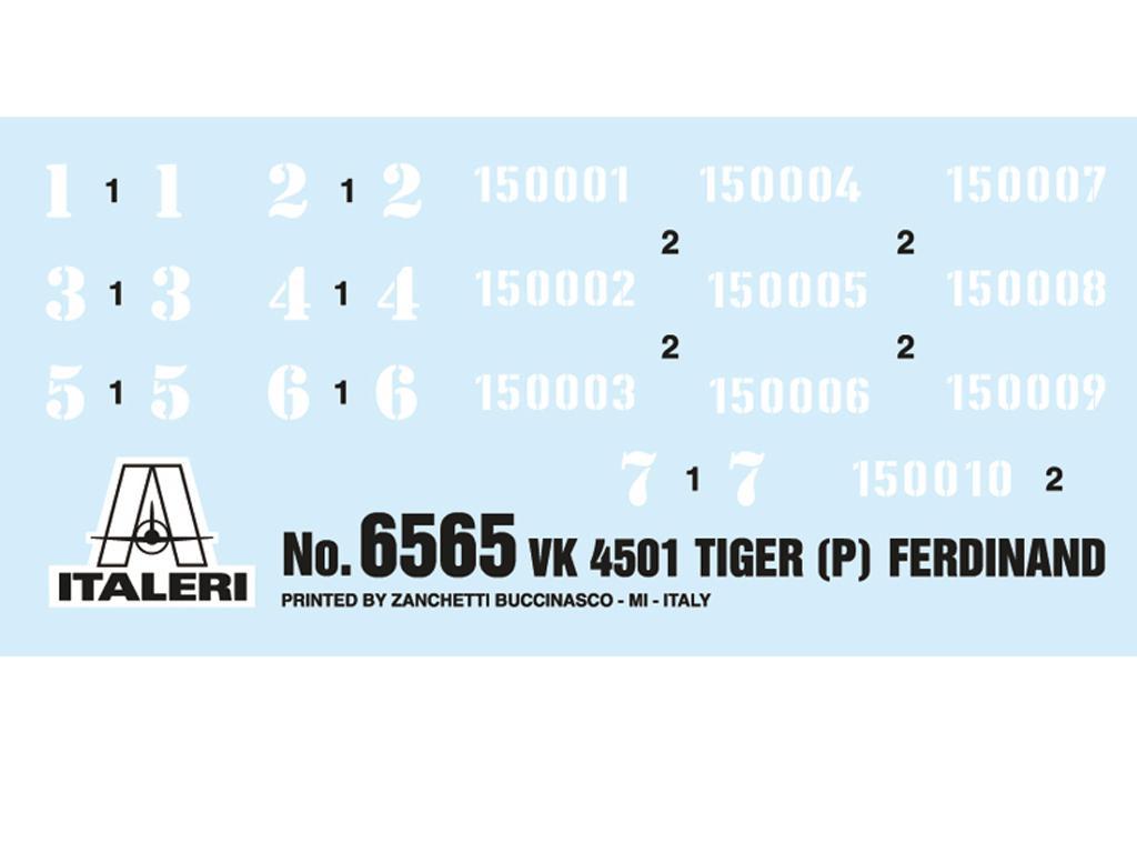 VK 4501 (P) Tigre Ferdinand (Vista 3)