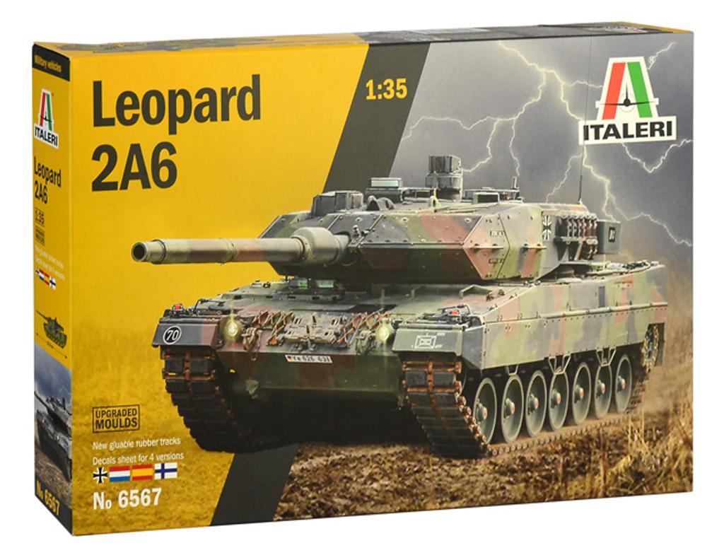 Leopard 2A6 (Vista 1)