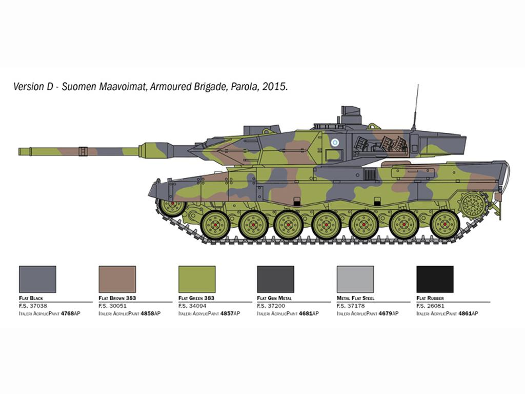 Leopard 2A6 (Vista 2)