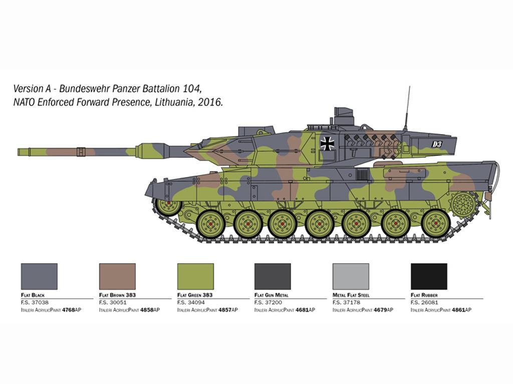 Leopard 2A6 (Vista 4)