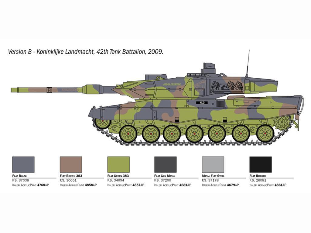 Leopard 2A6 (Vista 5)