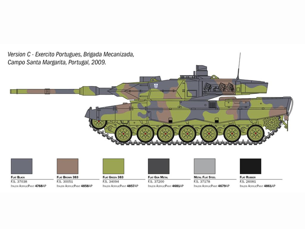 Leopard 2A6 (Vista 6)
