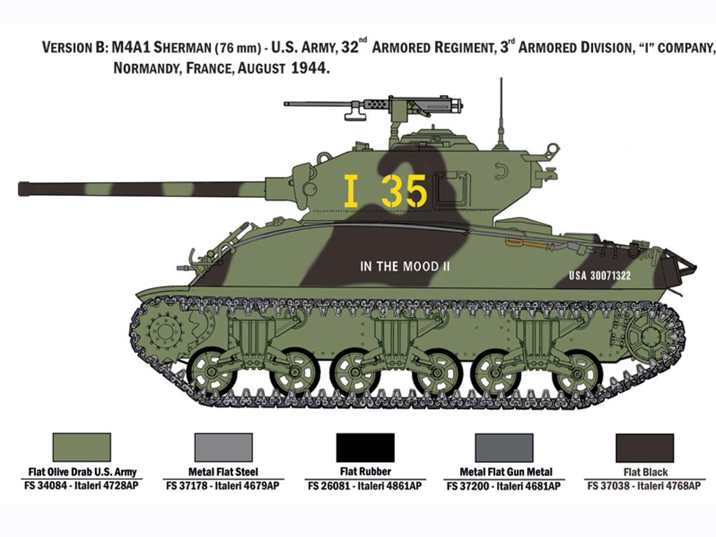 M4A1 Sherman con Infantería de EE.UU. (Vista 5)