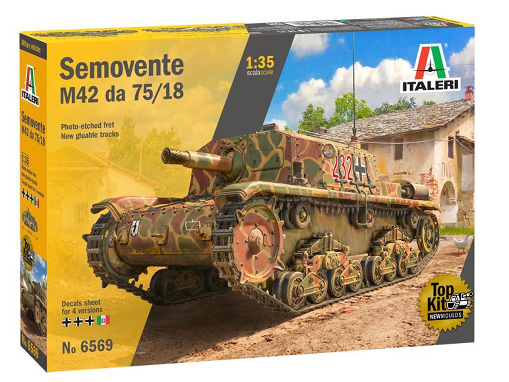 Semovente M42 75/18 mm (Vista 1)