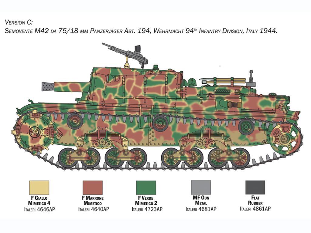 Semovente M42 75/18 mm (Vista 5)