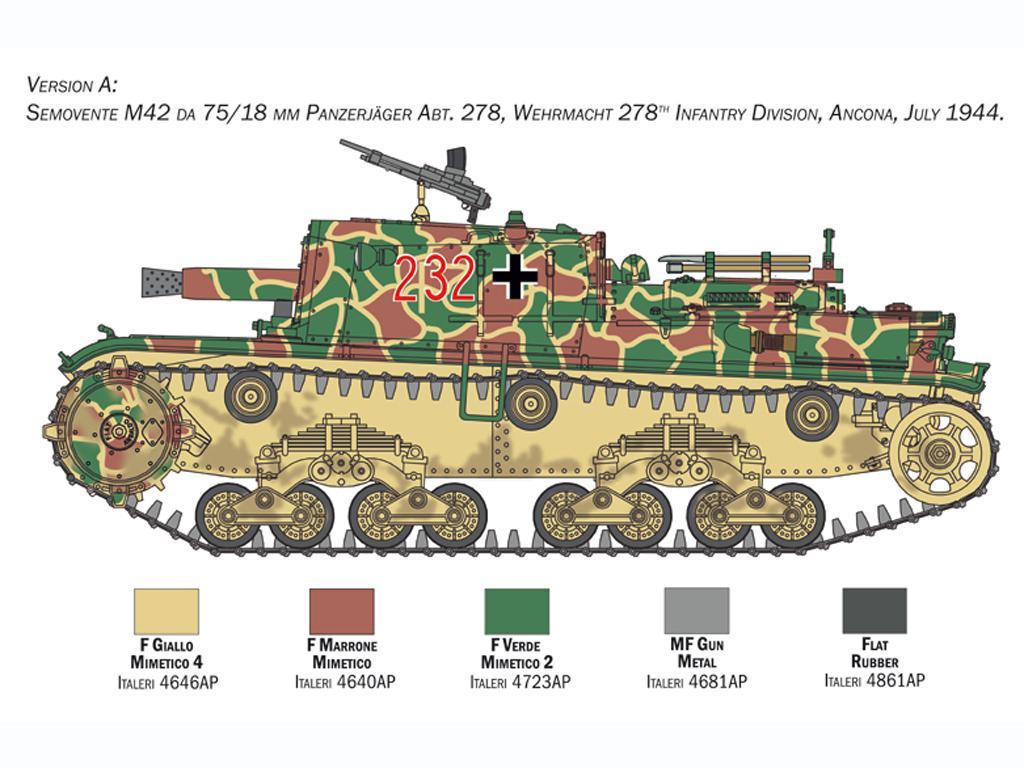Semovente M42 75/18 mm (Vista 6)