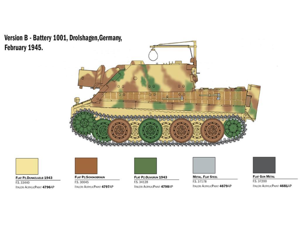 38 cm RW 61 auf Sturmmorser Tiger (Vista 2)