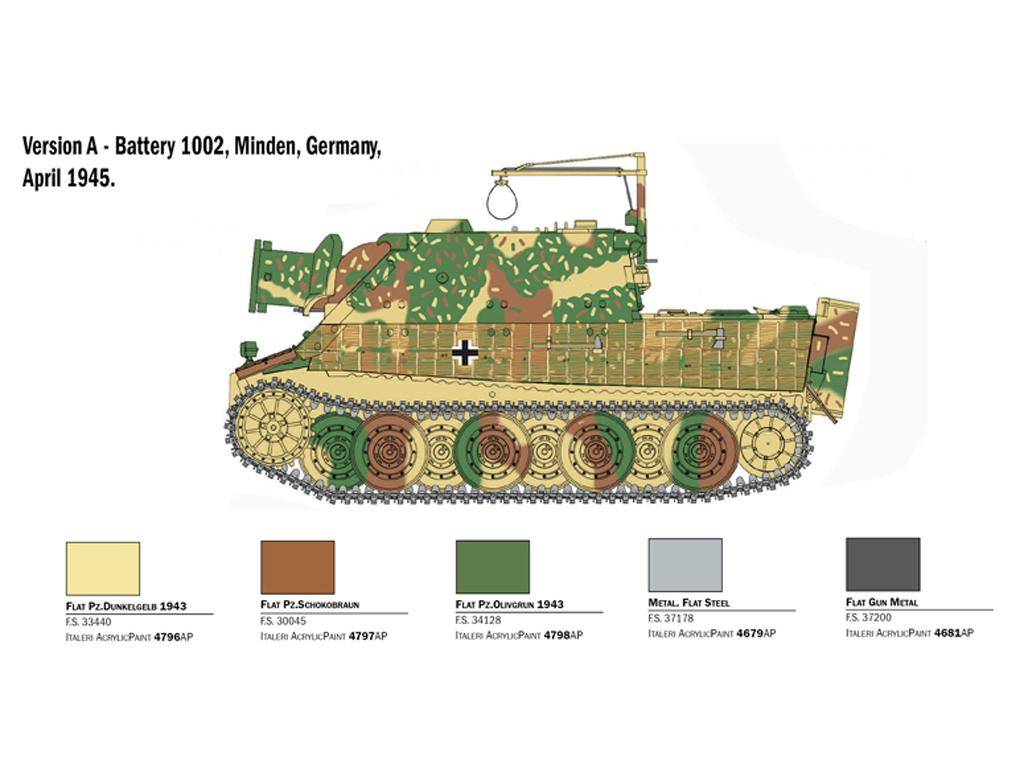 38 cm RW 61 auf Sturmmorser Tiger (Vista 4)