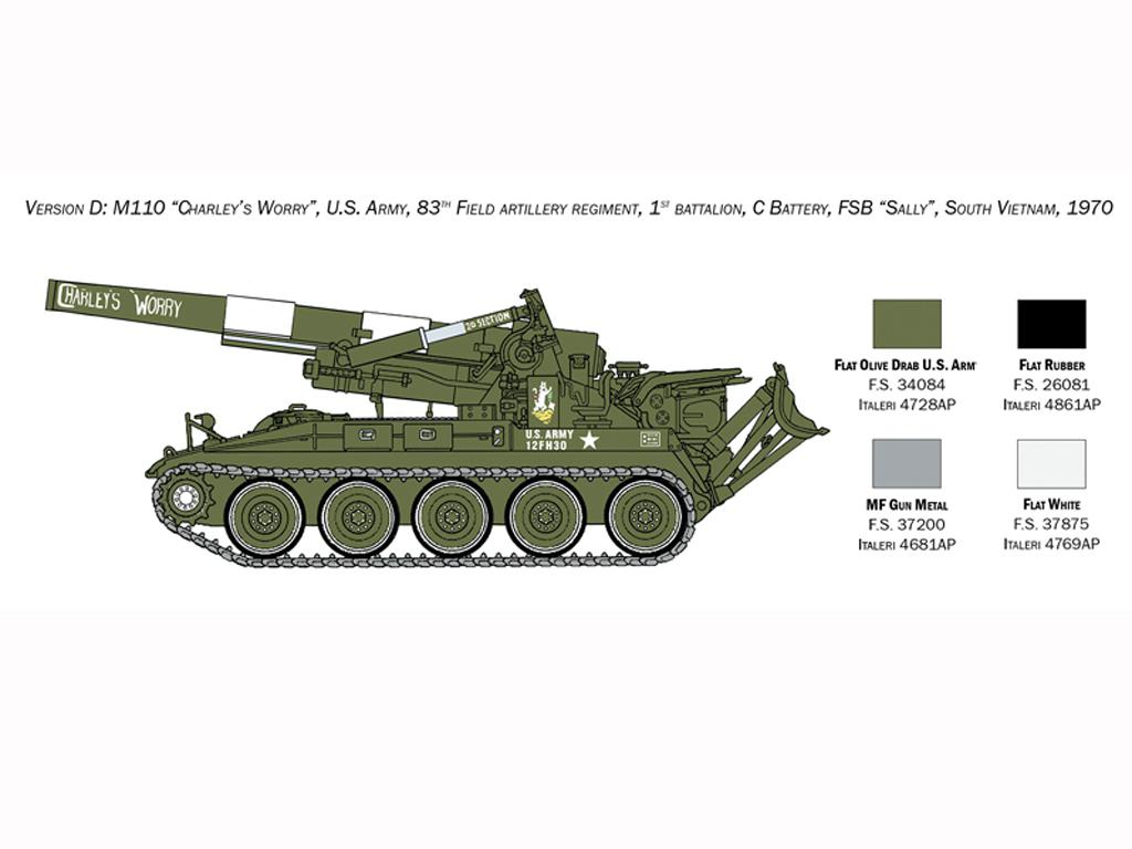 M110 A1 Self Propelled Howitzer (Vista 2)