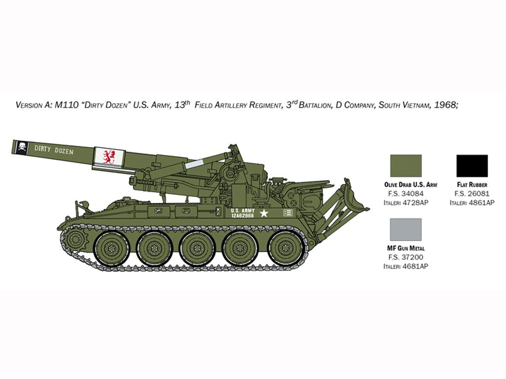 M110 A1 Self Propelled Howitzer (Vista 4)