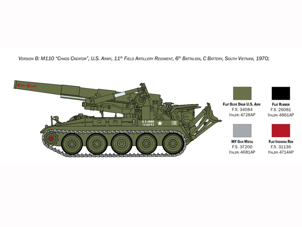 M110 A1 Self Propelled Howitzer (Vista 5)