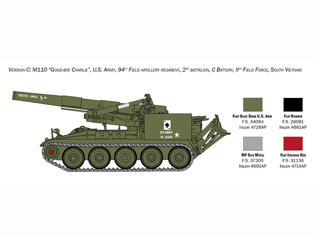M110 A1 Self Propelled Howitzer (Vista 6)