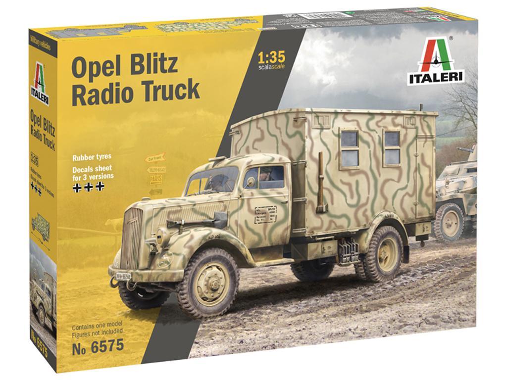 Opel Blitz Radio Truck (Vista 1)