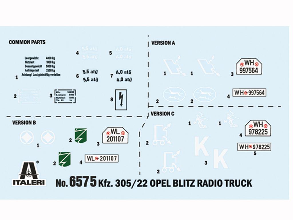 Opel Blitz Radio Truck (Vista 3)
