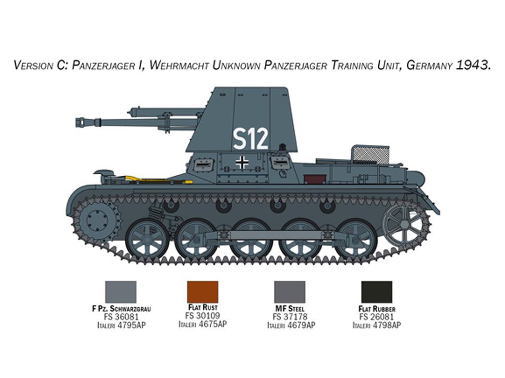 Panzerjäger I (Vista 4)
