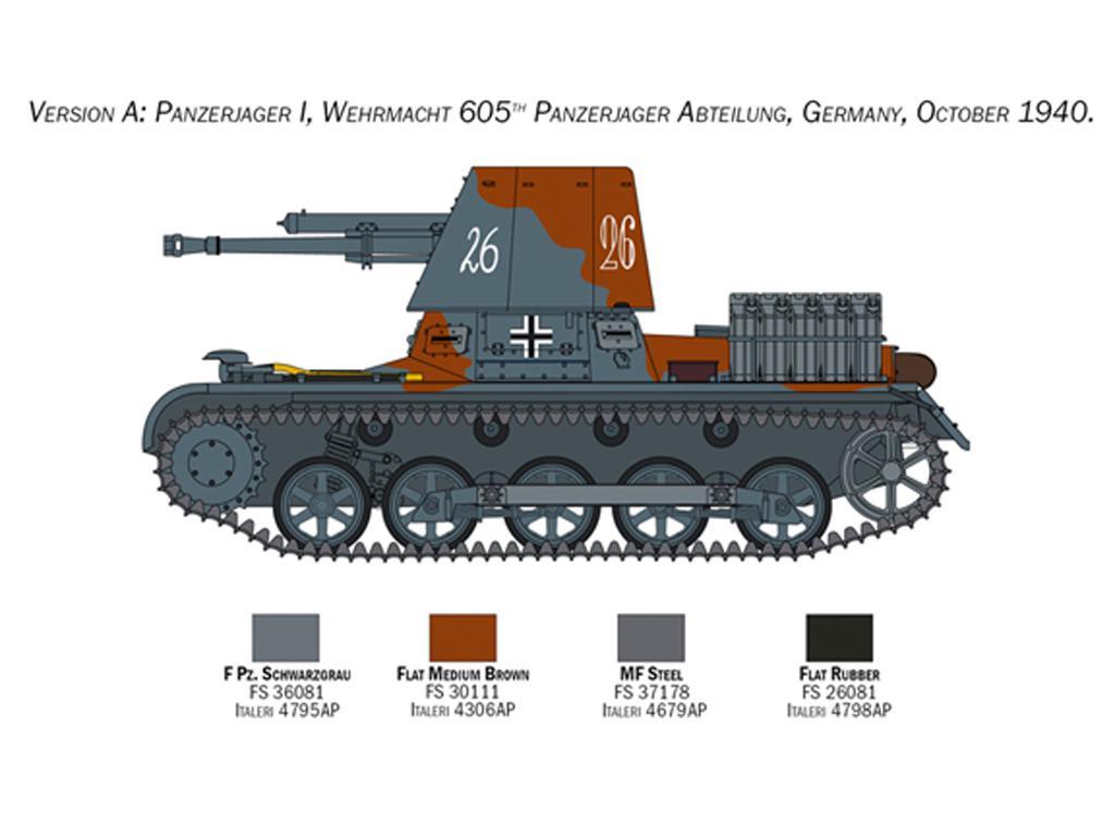 Panzerjäger I (Vista 6)