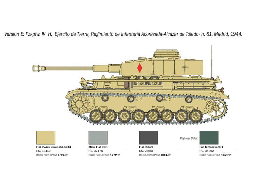 Pz.Kpfw. IV Ausf. H (Vista 2)