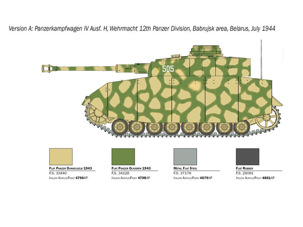 Pz.Kpfw. IV Ausf. H (Vista 4)