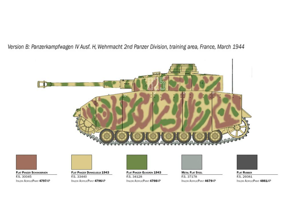 Pz.Kpfw. IV Ausf. H (Vista 5)