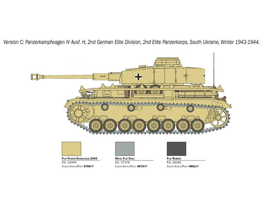 Pz.Kpfw. IV Ausf. H (Vista 6)