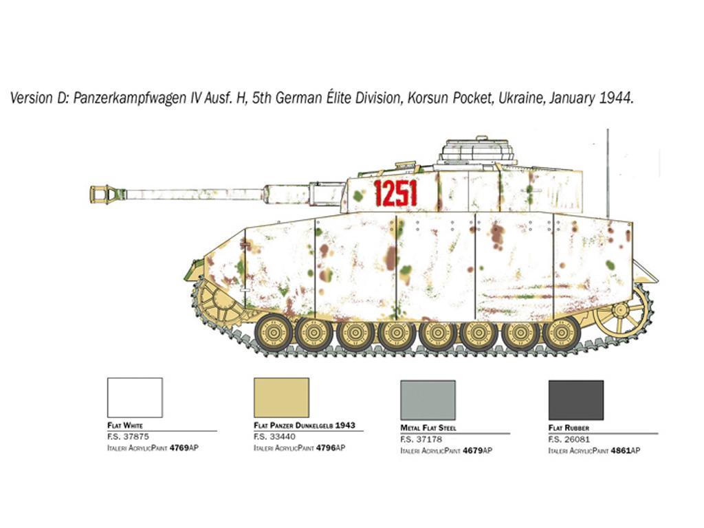 Pz.Kpfw. IV Ausf. H (Vista 7)