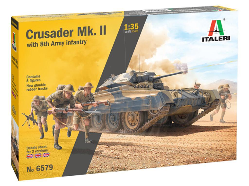 Crusader Mk. II with 8th Army Infantry (Vista 1)
