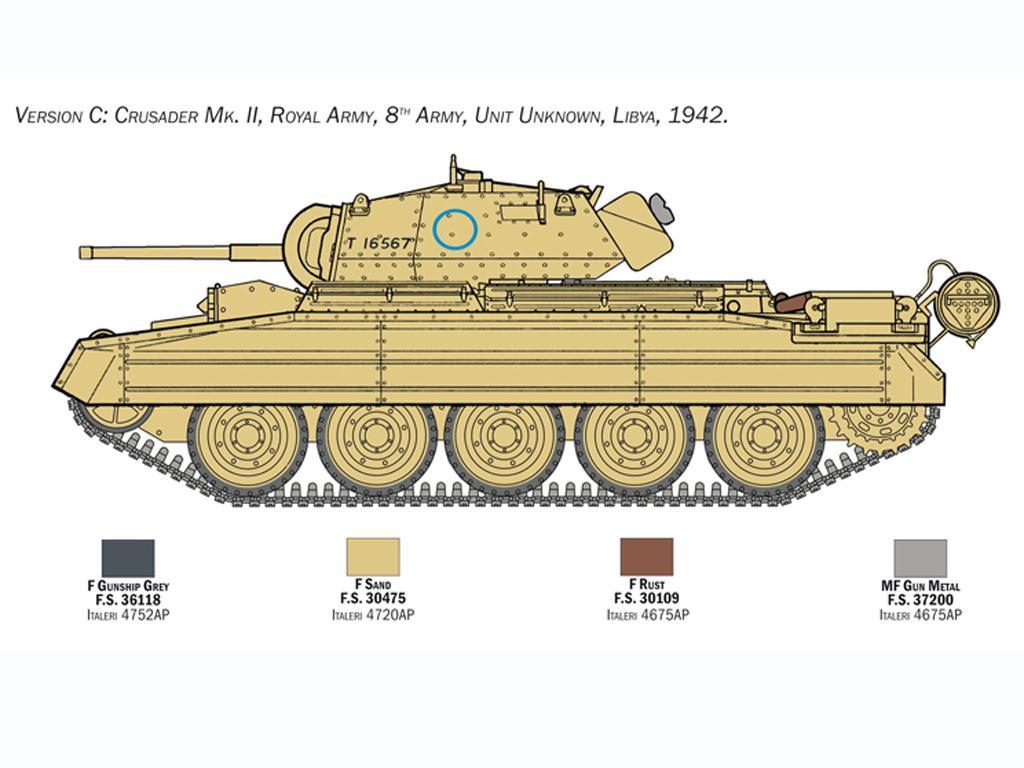 Crusader Mk. II with 8th Army Infantry (Vista 2)
