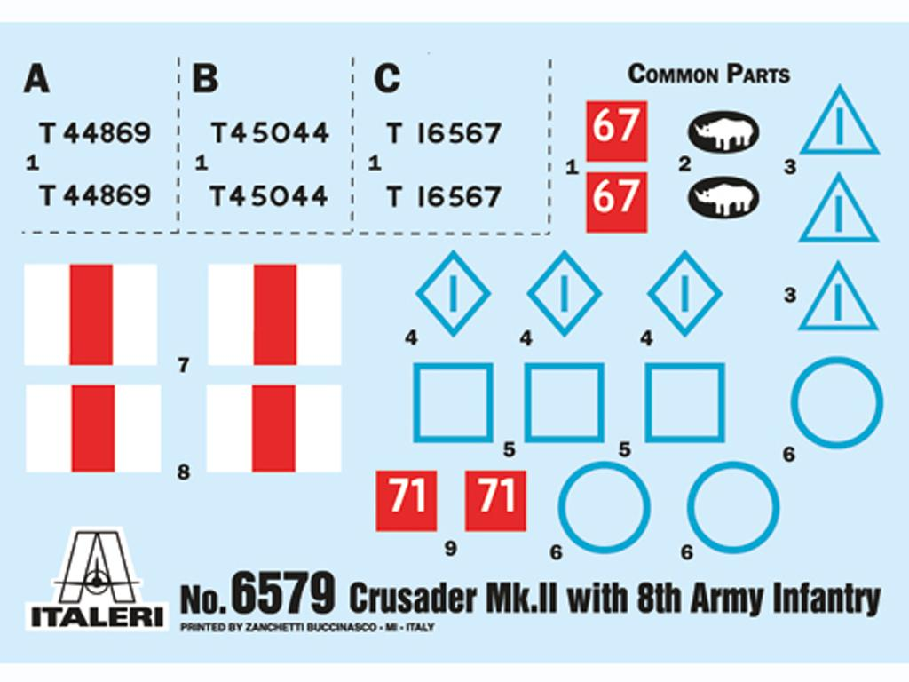 Crusader Mk. II with 8th Army Infantry (Vista 3)