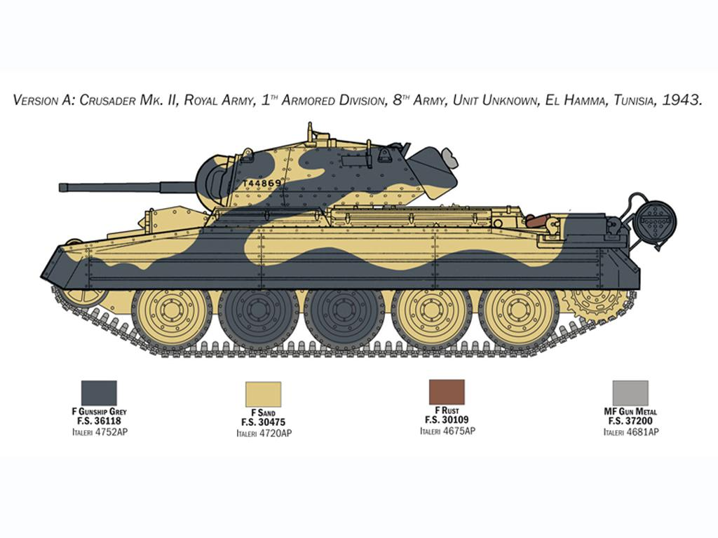 Crusader Mk. II with 8th Army Infantry (Vista 4)