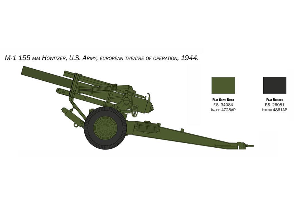M1 155mm Howitzer (Vista 2)