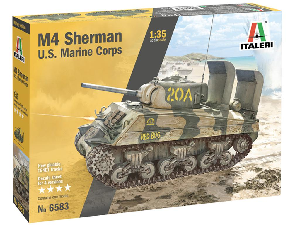 M4 Sherman U.S. Marines Corps (Vista 1)