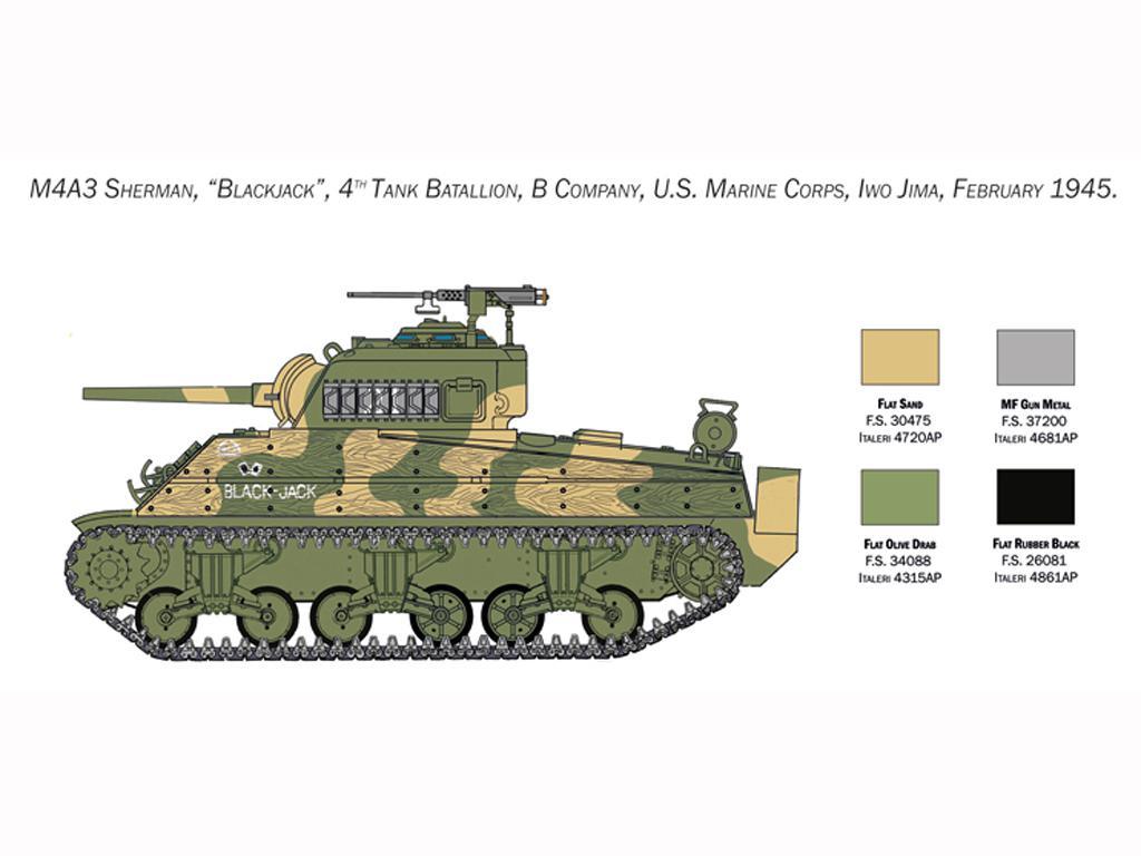 M4 Sherman U.S. Marines Corps (Vista 2)