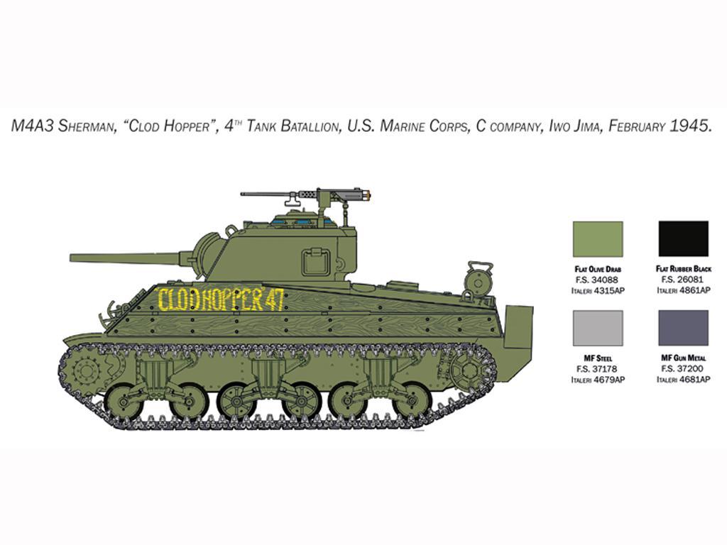 M4 Sherman U.S. Marines Corps (Vista 5)
