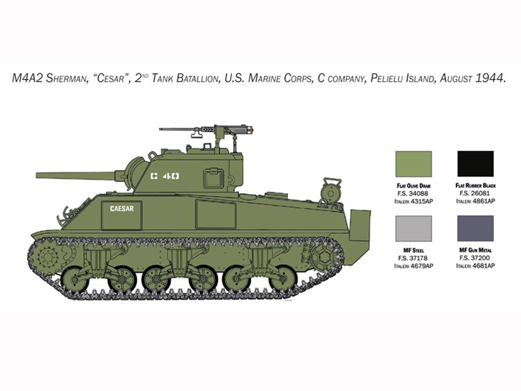 M4 Sherman U.S. Marines Corps (Vista 6)