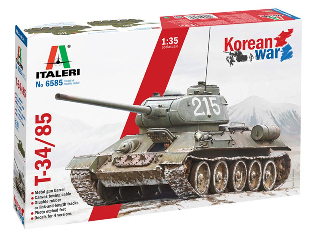 T-34/85 Korean War (Vista 1)