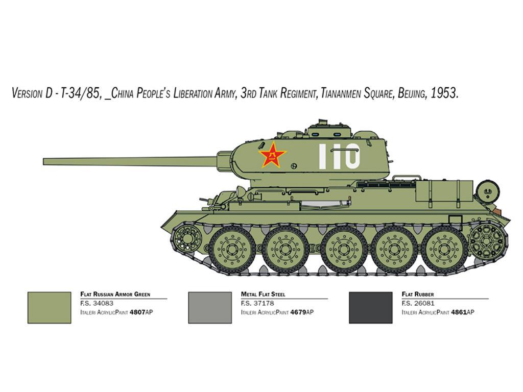 T-34/85 Korean War (Vista 2)