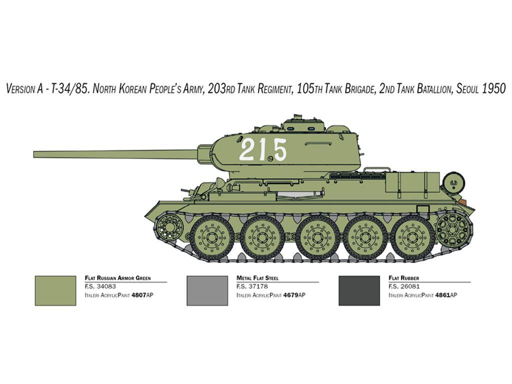 T-34/85 Korean War (Vista 4)