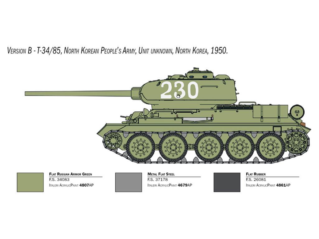 T-34/85 Korean War (Vista 5)