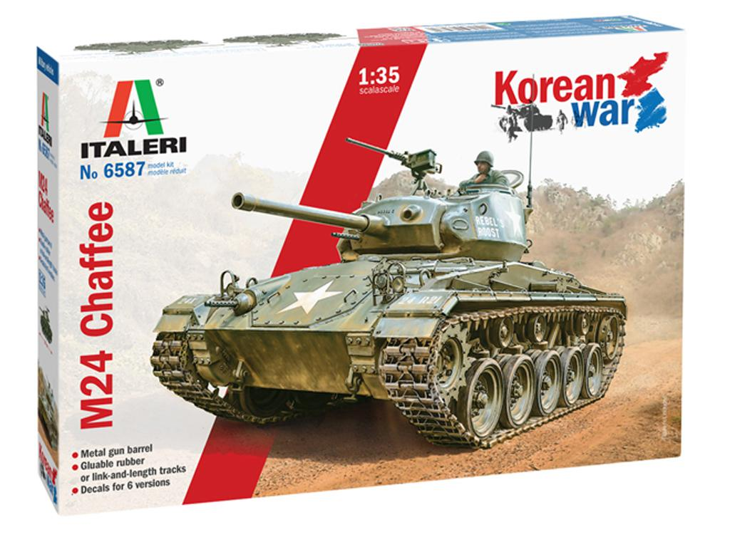 M24 Chaffee Korean War (Vista 1)