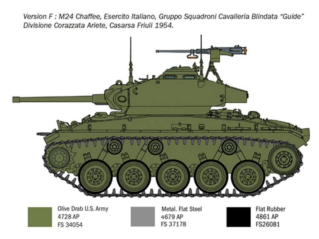 M24 Chaffee Korean War (Vista 2)