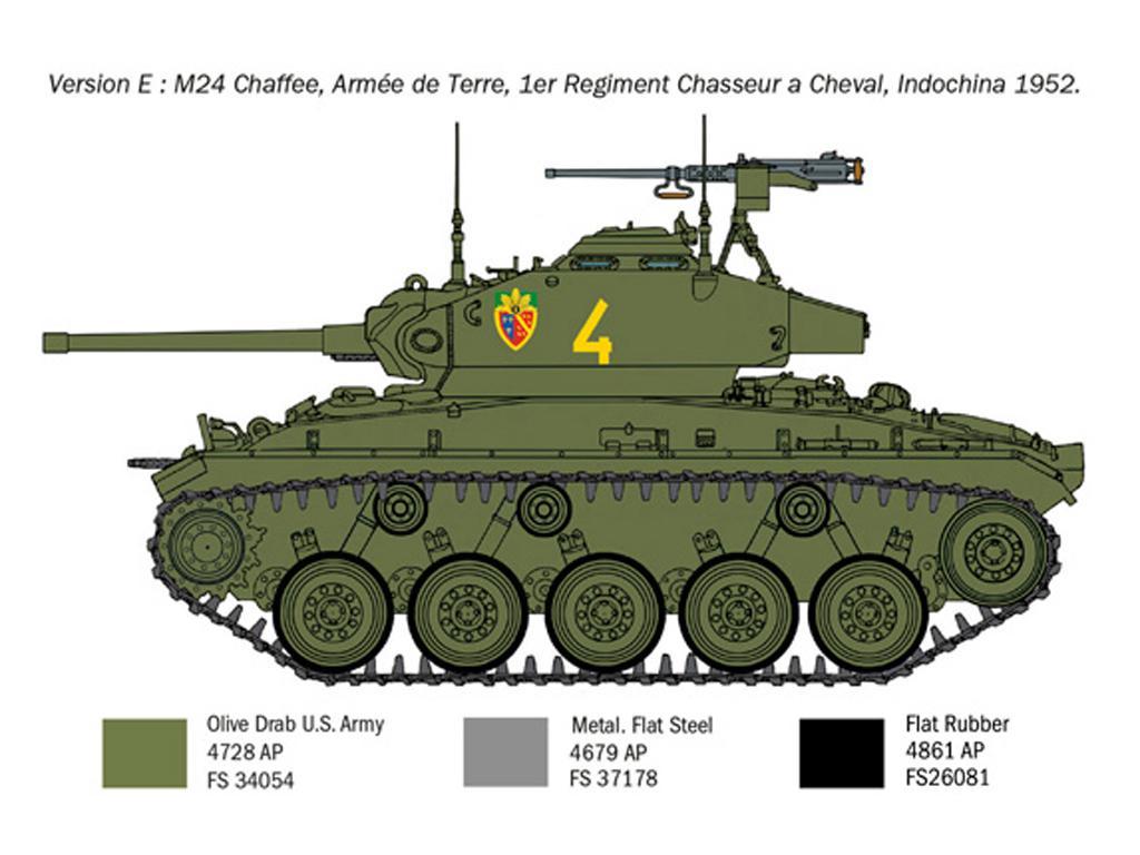 M24 Chaffee Korean War (Vista 5)