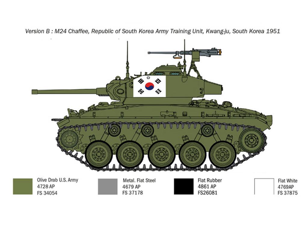 M24 Chaffee Korean War (Vista 6)