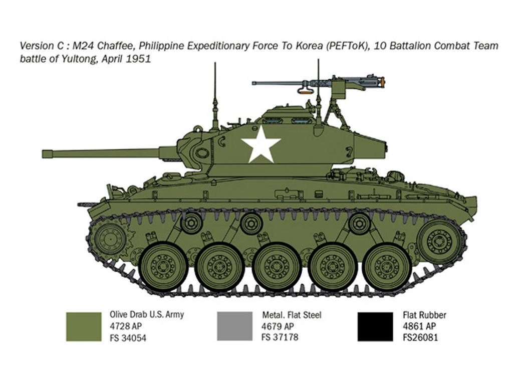 M24 Chaffee Korean War (Vista 7)
